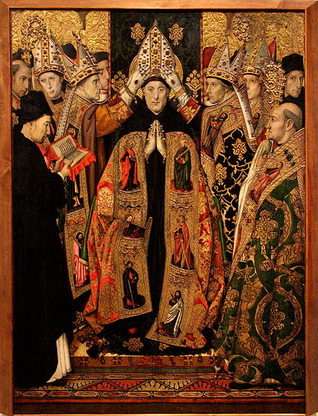 The consecration of St Augustine