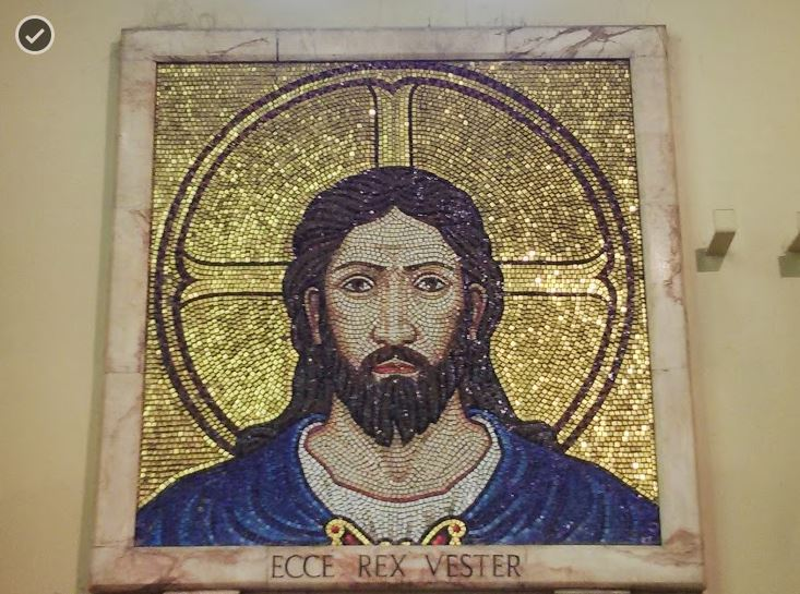Image of Christ, origin unknown, photo by swang