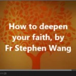 How to deepen your faith