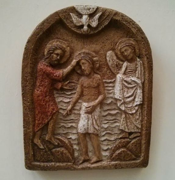 baptism of Jesus, source unknown - photo by SWang CCommons