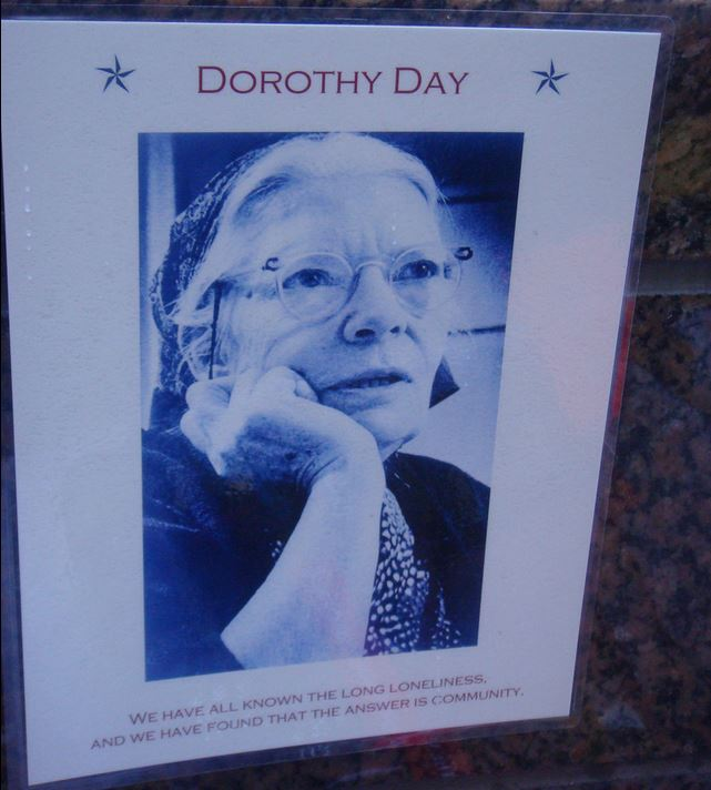 Dorothy Day by J Mario http://www.flickr.com/photos/siwc/6299296436/