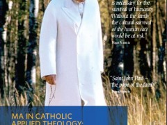 MA in Catholic Applied Theology (Marriage and Family)