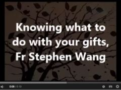 Knowing what to do with your gifts