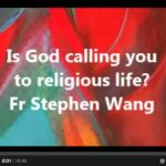 Is God calling you to religious life?