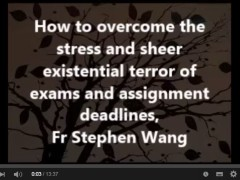 How to overcome the stress and sheer existential terror of exams and assignment deadlines