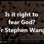 Is it right to fear God?