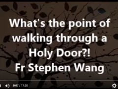 What's the point of walking through a Holy Door?!