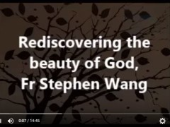 Rediscovering the beauty of God