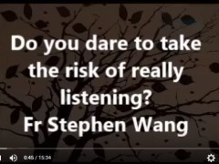 Do you dare to take the risk of really listening?