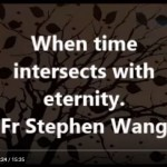 When time intersects with eternity