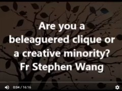 Are you a beleaguered clique or a creative minority?